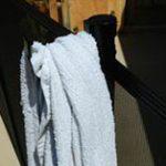 swimming pool towel hook