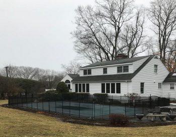 105ft black child pool fence Katonah NY