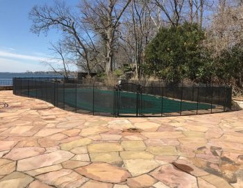 105ft pool fence installed Kids Safe Rye, NY