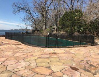 105ft pool fence installed Kids Safe Rye, NY
