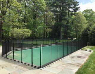 110ft Life Saver black poo fence Norwalk, CT