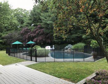 115ft pool safety fence Harrison NY