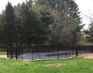 120ft black pool fencing installations Ossining, NY
