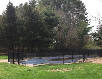 120ft black pool fencing installations Ossining, NY