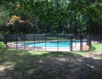 120ft pool safety fence black color Wallingford, CT