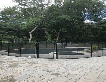 125ft black pool fence Avon, CT