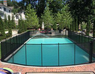 130ft pool fences black Stamford, CT