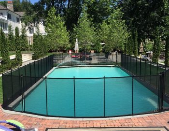 130ft pool fences black Stamford, CT