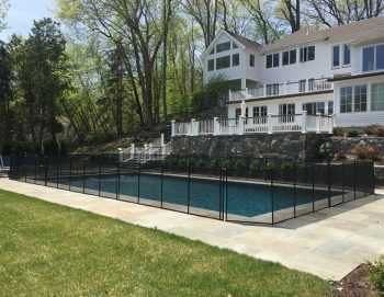 140ft black pool fences New Canaan, CT
