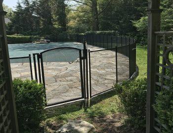 150ft pool safety fence black Scarsdale, NY