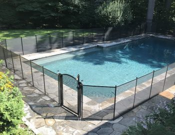160ft removable pool fence Harrison NY
