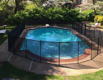 90ft black fences for pools New Rochelle, NY