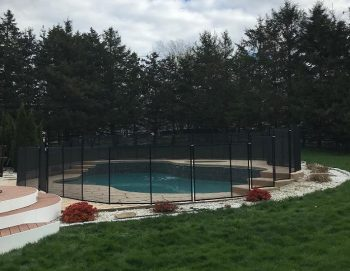 90ft black pool safety fence Manchester, CT