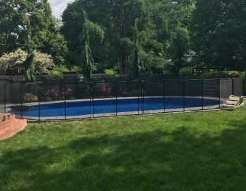 95ft black pool fence installations Glastonbury, CT