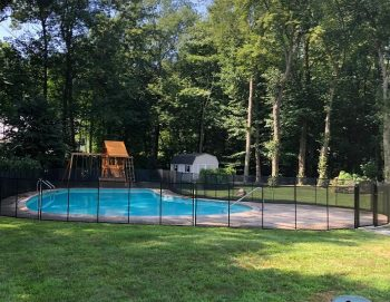 child pool safety fence installed in Harrison, NY
