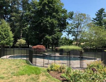 Kids Safe Pool Fence installation in Fairfield, CT