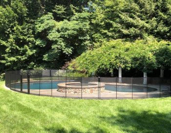 pool safety fence installed by Kids Safe in Norwalk, CT