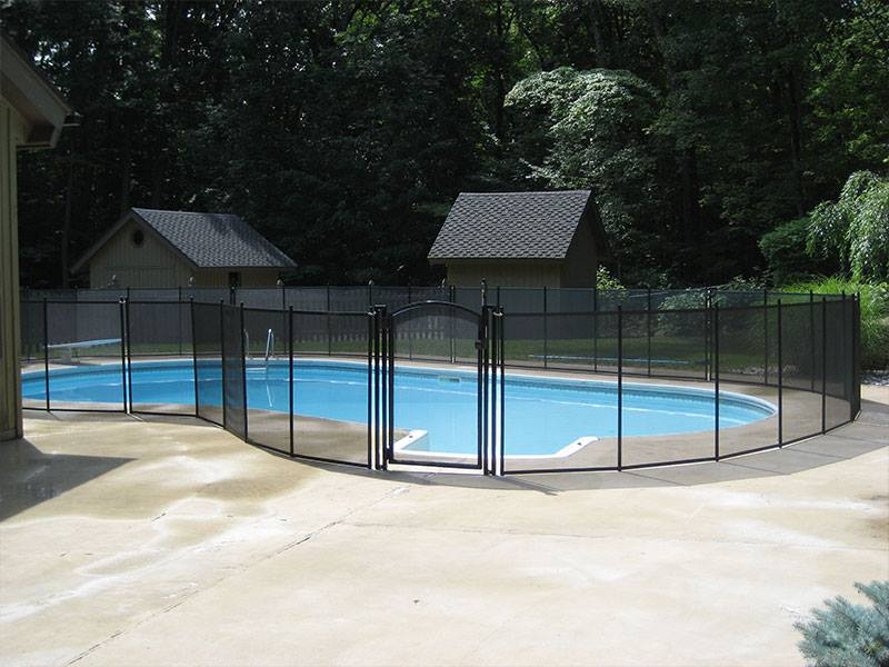 pool fence installation in Scarsdale, NY